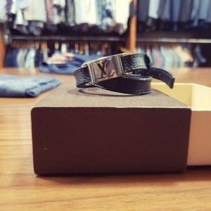 LV monogram wrap bracelet